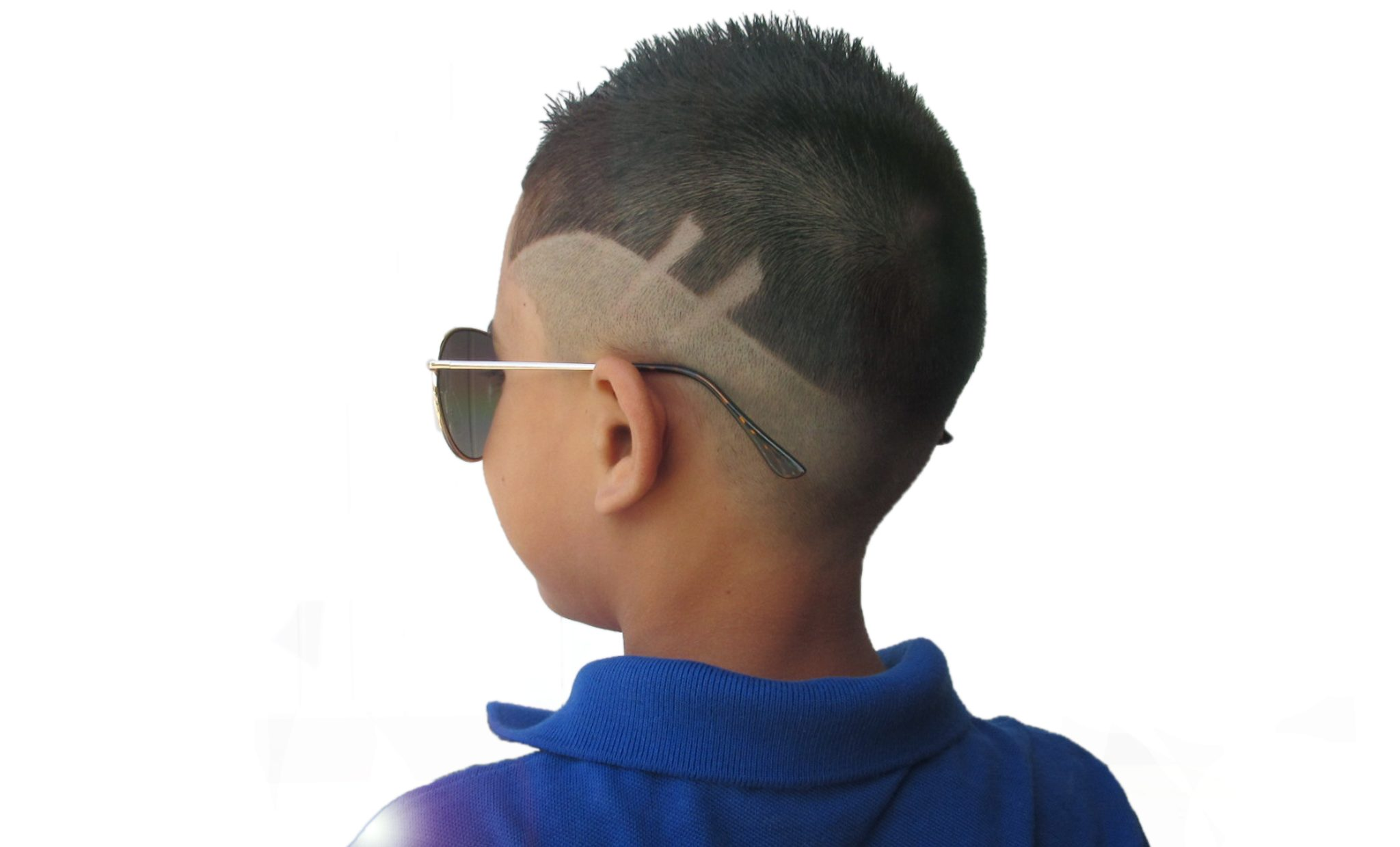 khaki haircut with MoCutz
