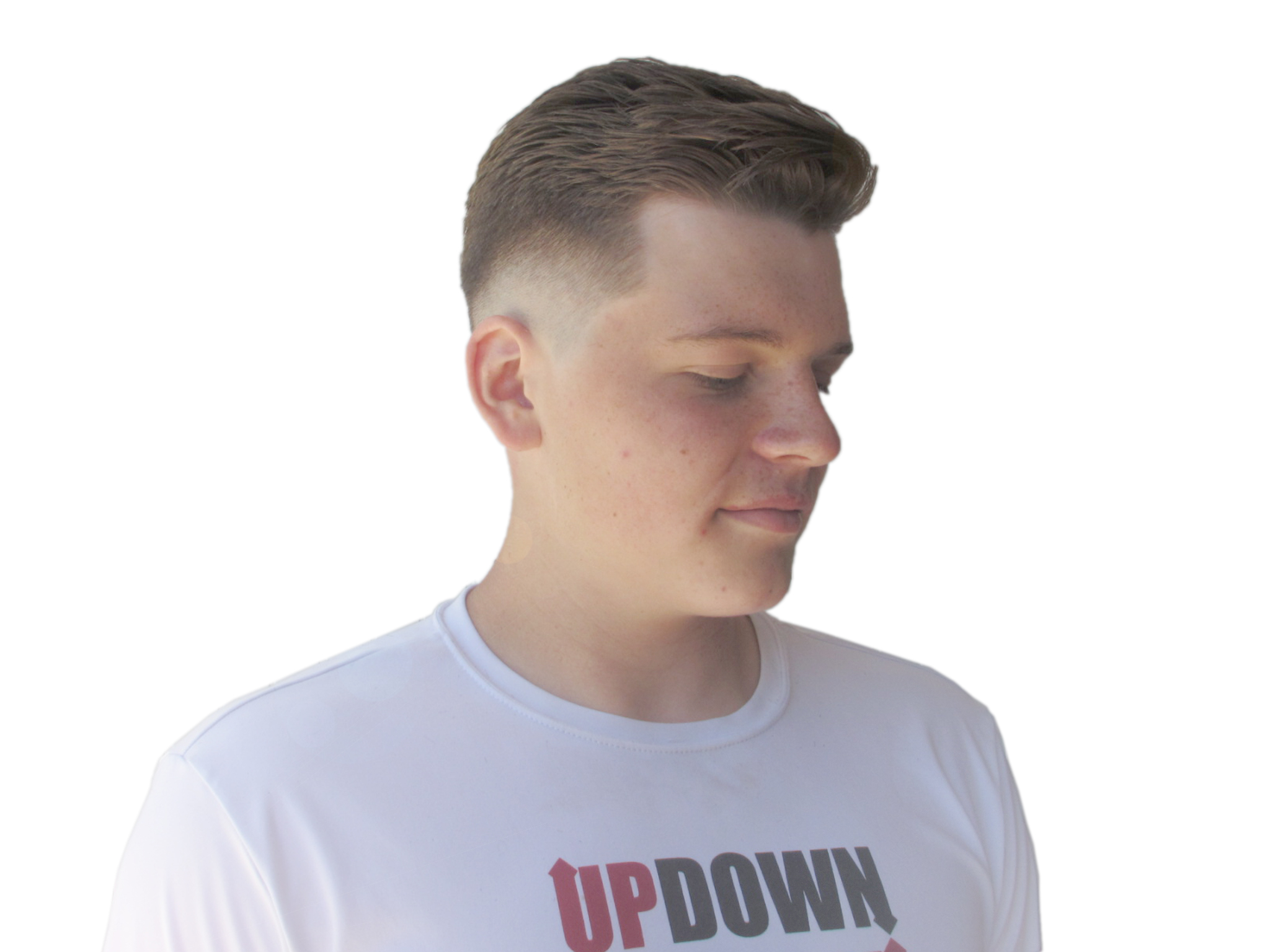 traditional combover cut by maurice
