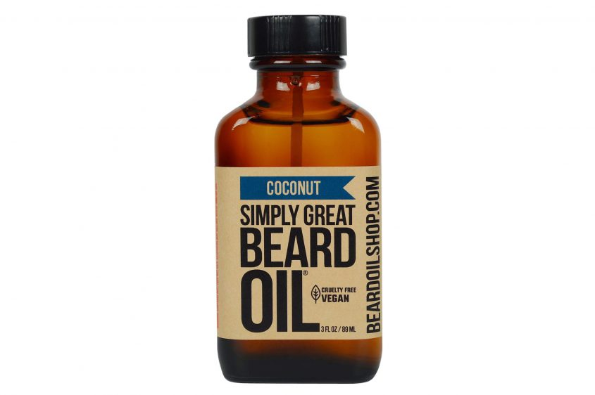 Coconut beard oil