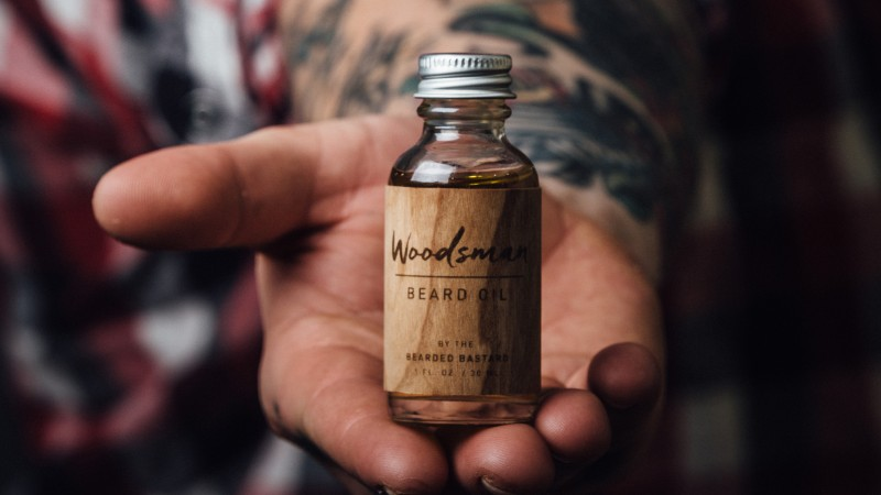 Beard oil recommended by victoria barber