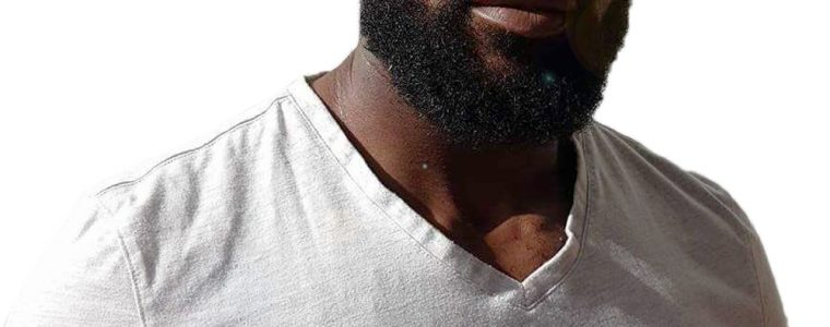 beard profile from front
