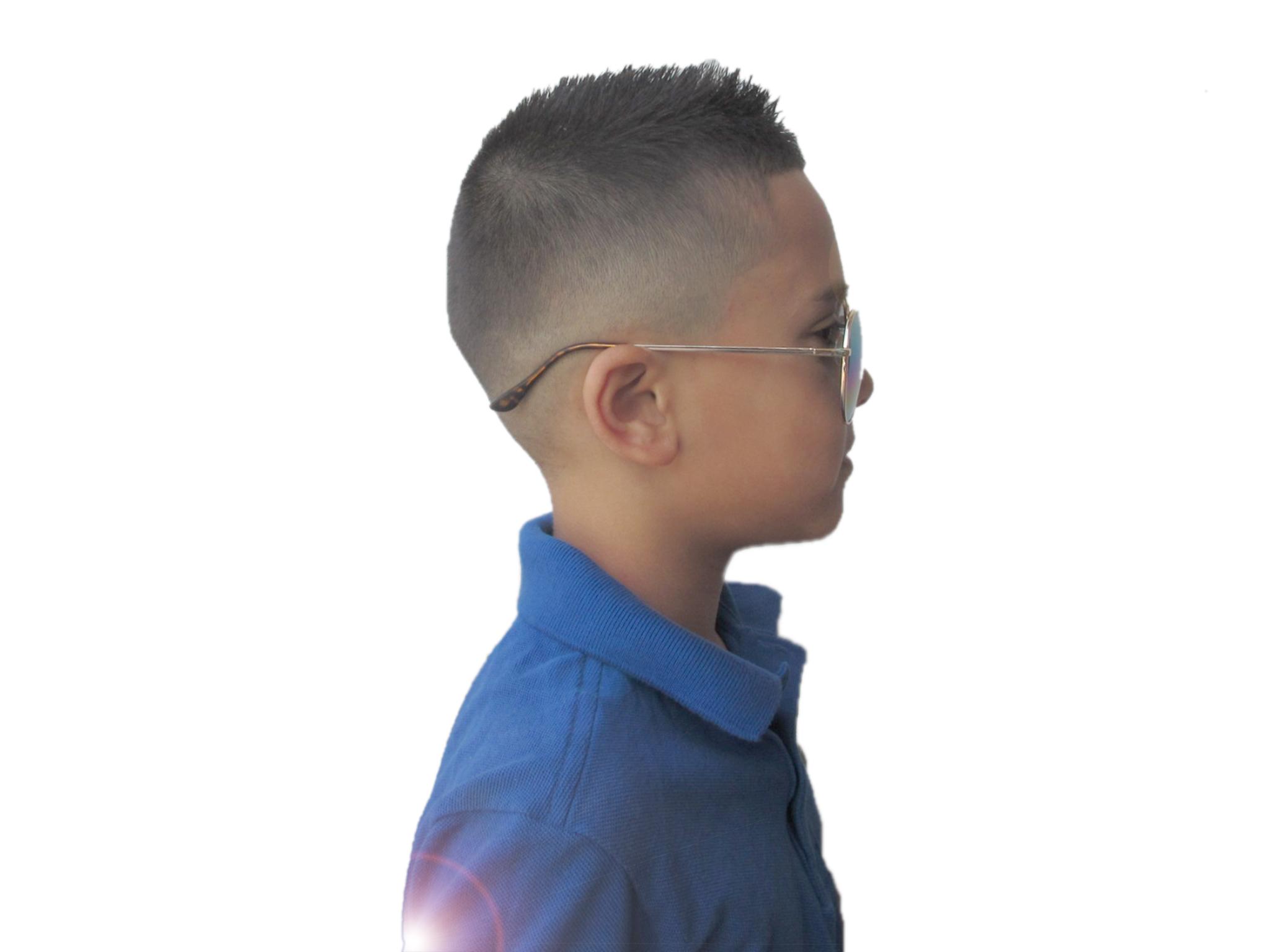 khaxai kids cut side fade